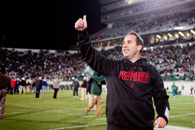 Husker defensive coordinator John Papuchis
