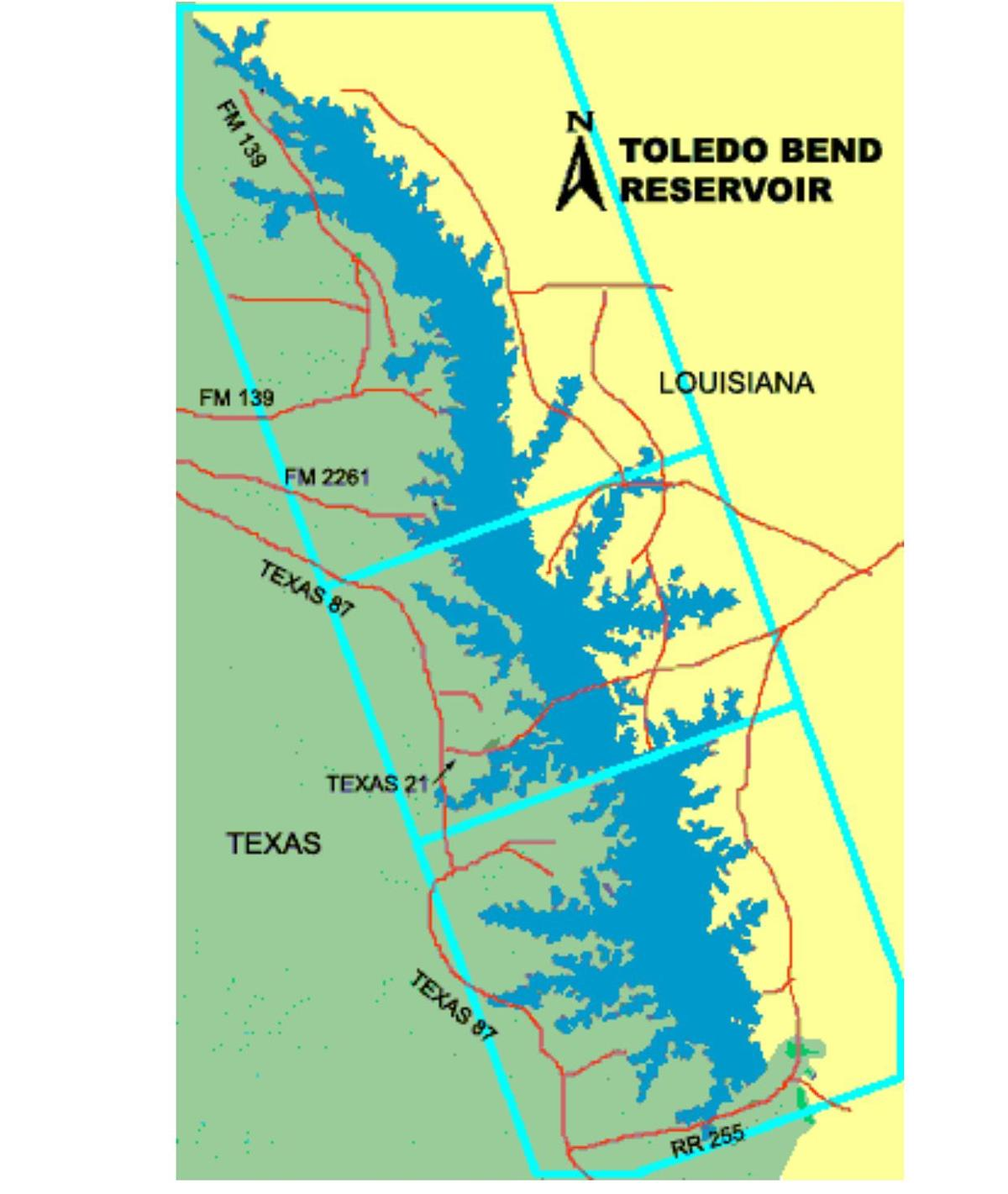 Toledo bend gone fishing news for Toledo bend fishing