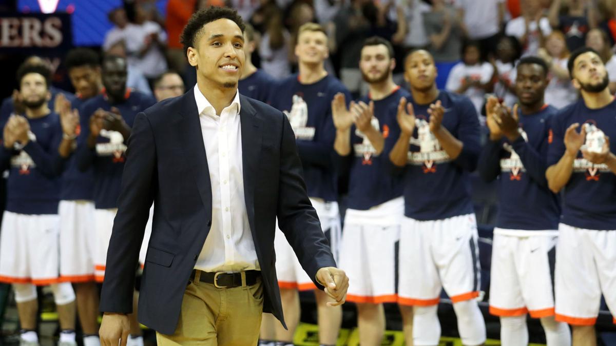 Malcolm Brogdon honored at UVA basketball