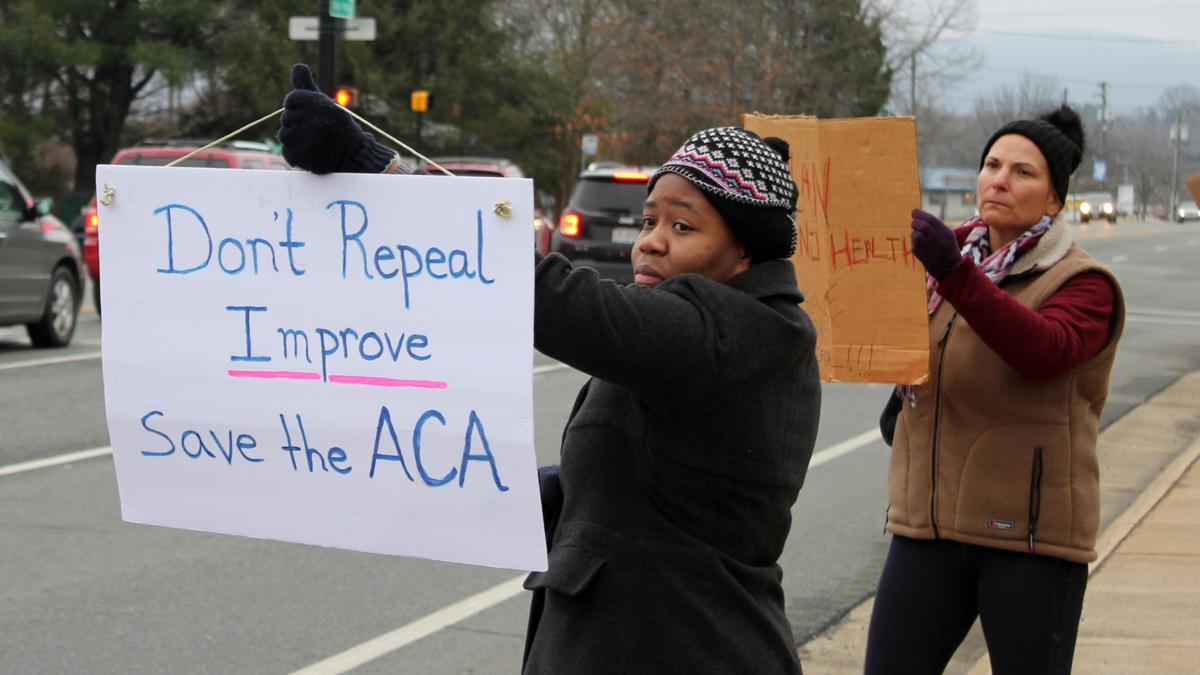 Charlottesville residents rally against ACA repeal