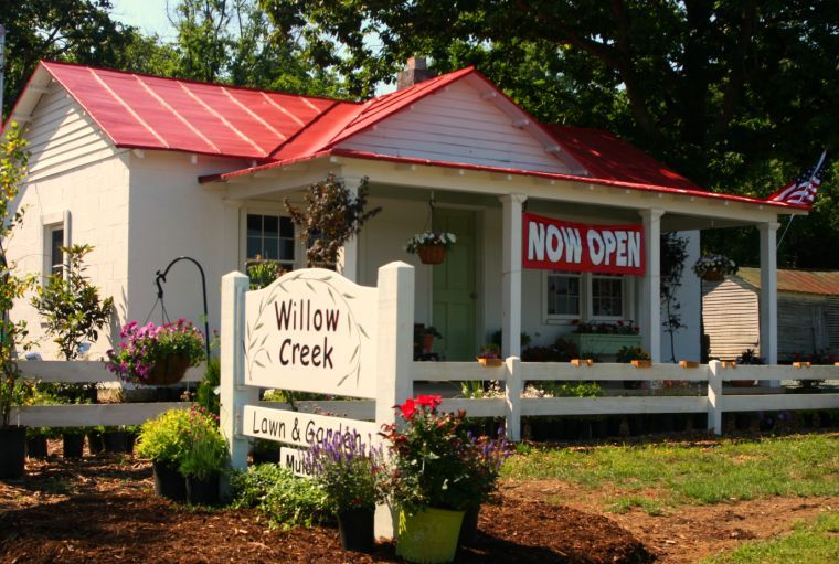 Willow Creek Lawn Garden Opens In Old Home Business