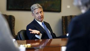 Libertarian presidential candidate Gary Johnson shares his views