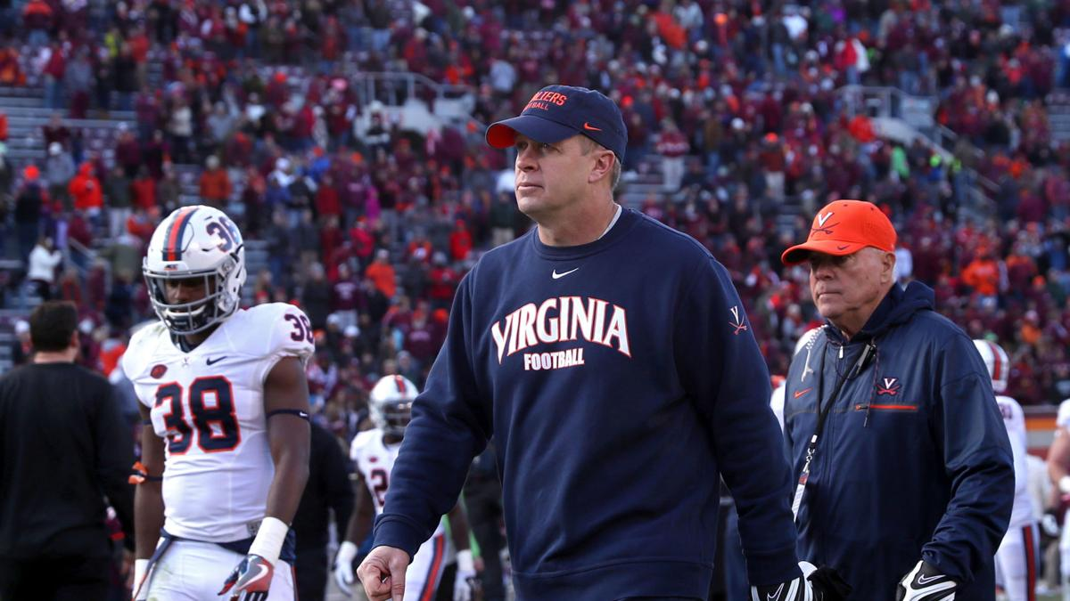Numbers reflect a trying first year at UVa for Mendenhall