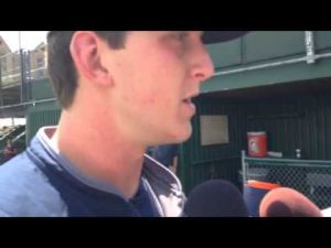 Brandon Waddell meets with media post-practice (6/16)