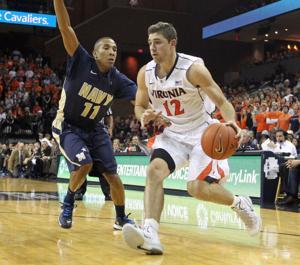 Navy Virginia Basketball