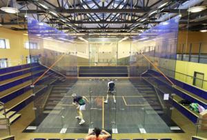 New squash facility