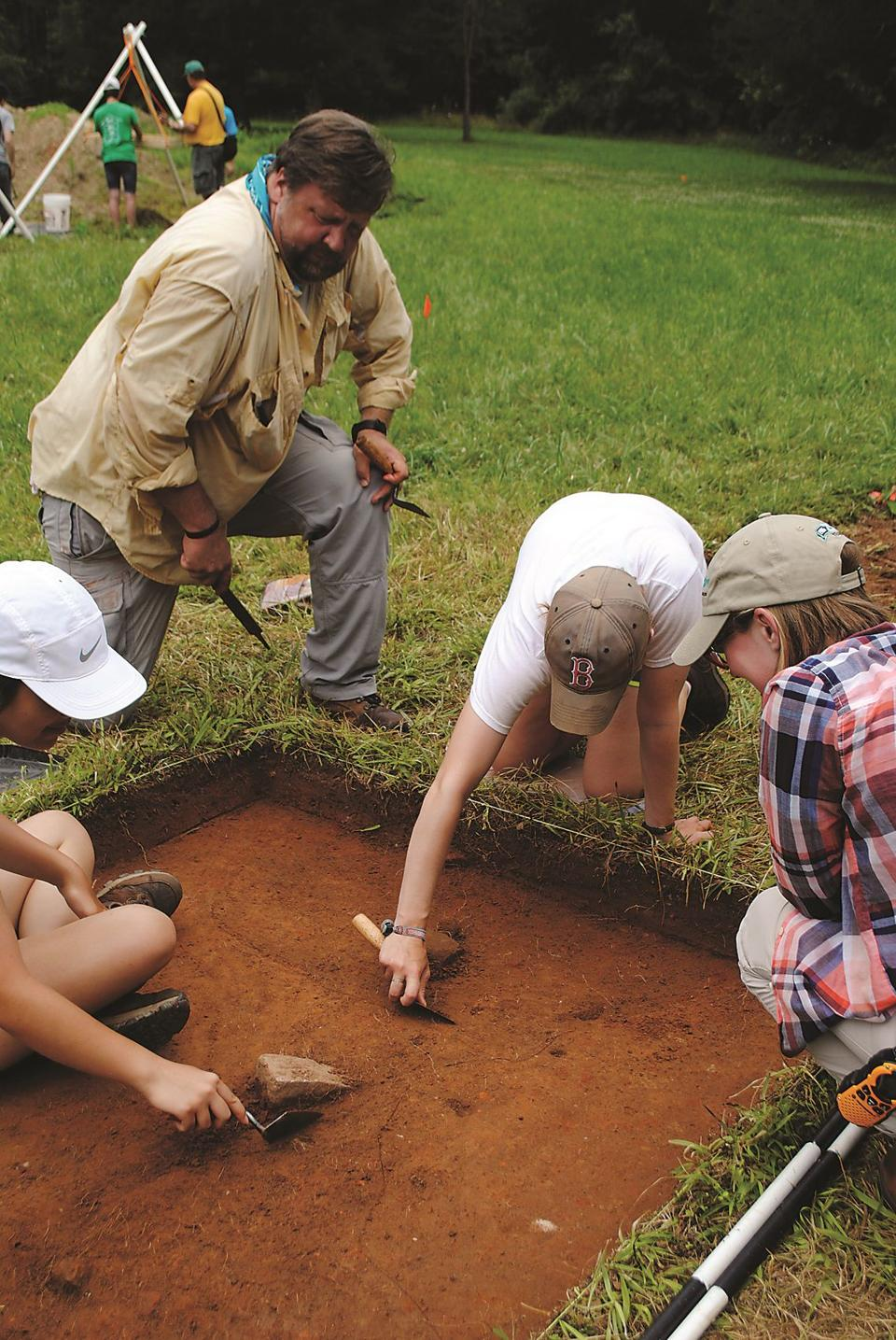Digging into the past at Germanna