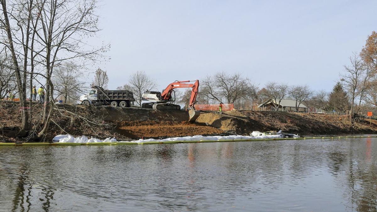 South River mercury remediation has started