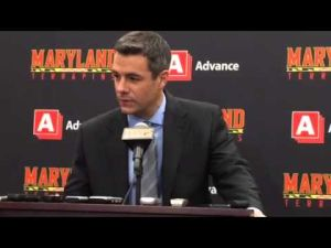 Coach Bennett After Maryland