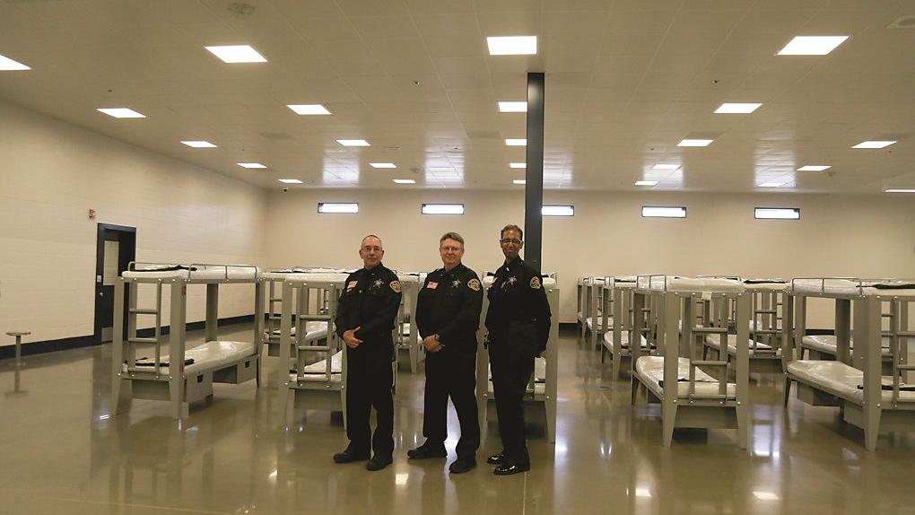 Jail expansion nears completion