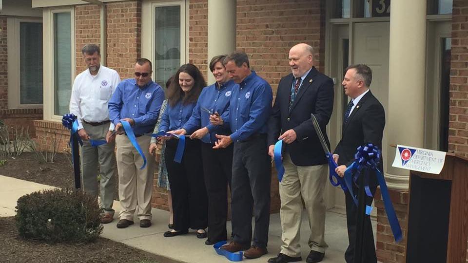 Va. Dept. of Emergency Managements opens office in Culpeper