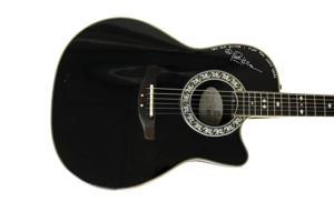 Matthews' Ovation Guitar