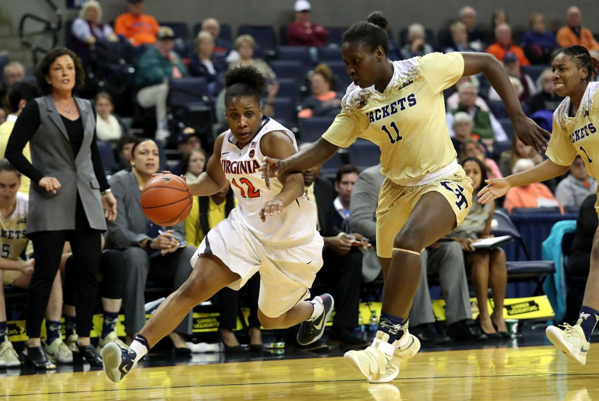 Virginia vs. Georgia Tech women's basketball   Cavalier ...