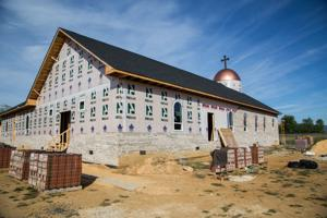 <p>St. Mary & St. John The Baptist Coptic Orthodox Church is being constructed in Staunton on Hermitage Road.</p>