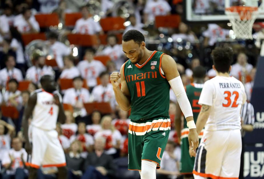 Virginia vs. Miami basketball