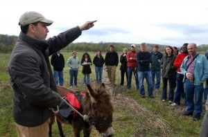UVa students' 'field' trip touts land preservation