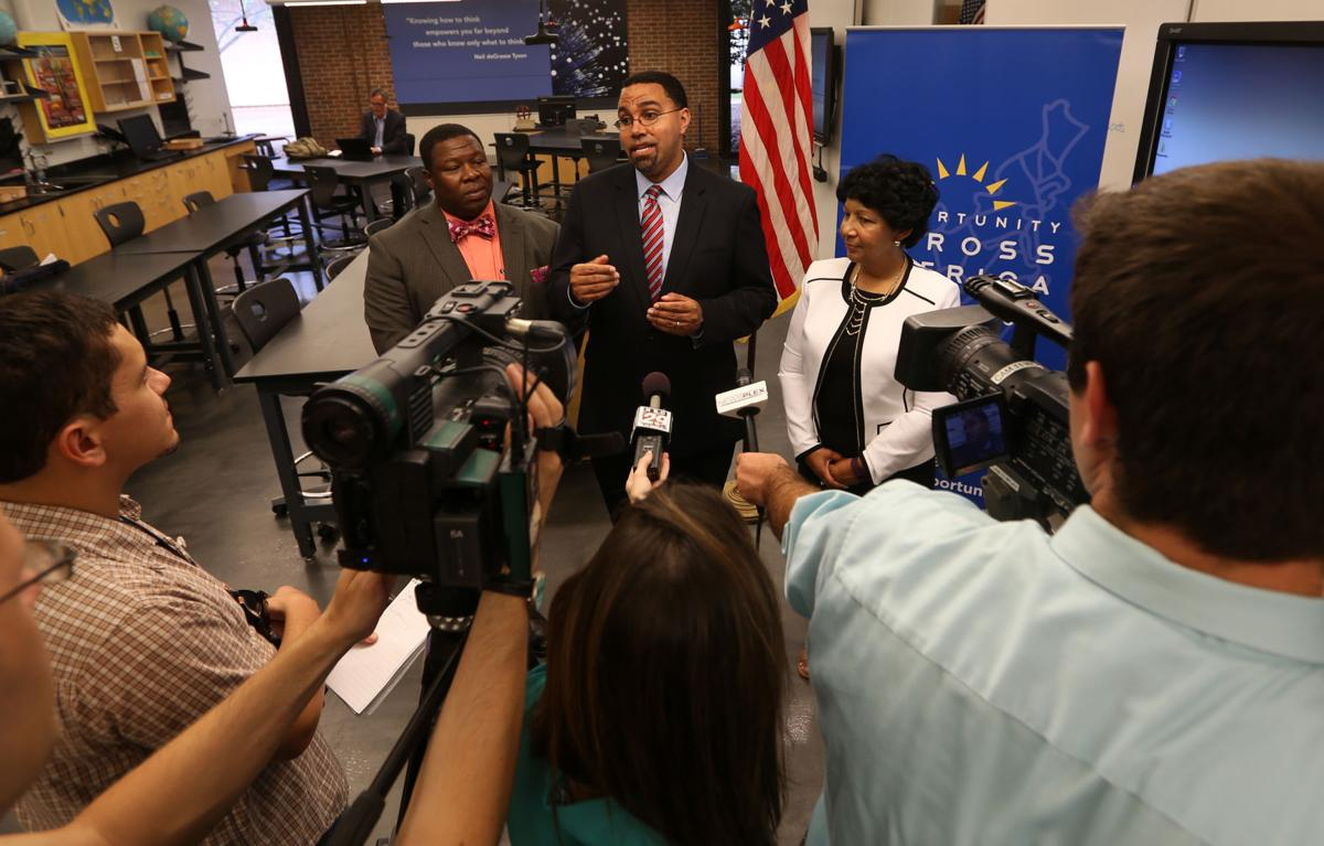 Department of Education Secretary Visits Buford ...