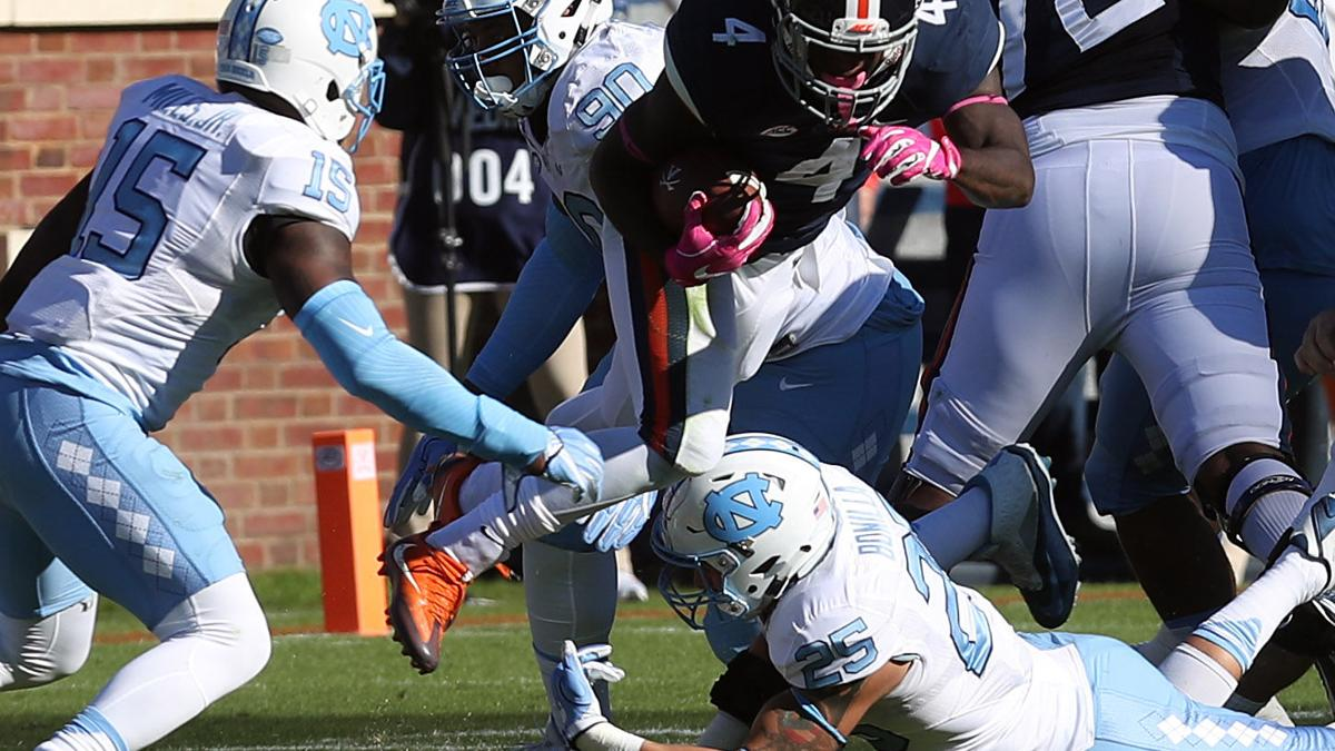 UVa offense continues to sputter in home loss to UNC