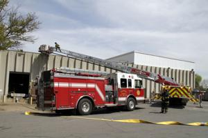 Fire at Rochester Corp.