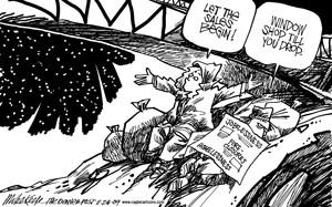 Editorial cartoon, Nov. 30
