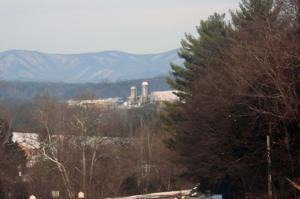 <p>The Blue Ridge Mountains were covered in snow following Winter Storm Jonas.</p>