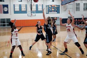Girls basketball, 12-4-14