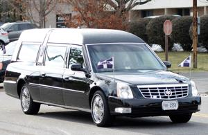 <p>Mourners leave a funeral home after attending the funeral for 13-year-old Nicole Lovell in Blacksburg, Va., Thursday, Feb. 4, 2016. Two Virginia Tech students carefully planned the kidnapping and killing of the teen, arranging a pre-dawn rendezvous online after buying cleaning supplies and a shovel at separate Wal-Mart stores, a prosecutor alleged Thursday. )</p>
