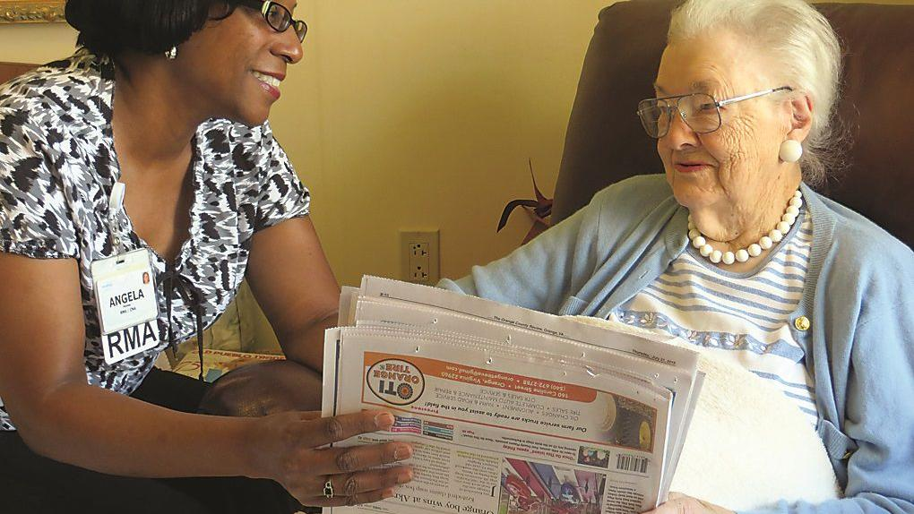 DV's Humes wins national caregiver award