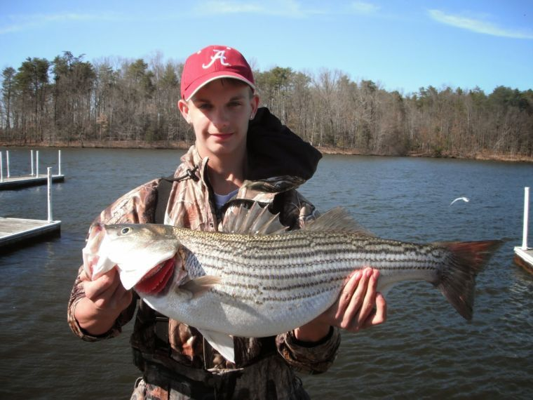 Freshwater report some spots delivering others not so for Best striper fishing spot in ri