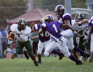 Hornets sting Little Giants in season opener 8.24.12 5