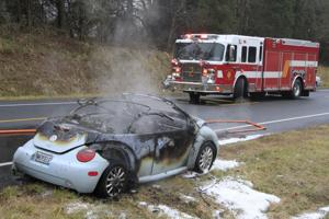 Accident on U.S. 29 in Reva area sends three to hospital