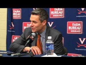 Tony Bennett after Syracuse Victory 1