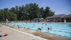 <p><span>Waynesboro residents cool off at the Ridgeview Park pool earlier this month. When temperatures get up into the 90s, as it did multiple days this week, the heat can become dangerous for some. </span></p>