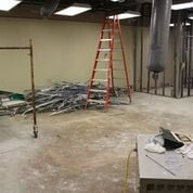 <p>Construction on Culpeper Medical Center's new cardiology clinic that will open sometime in December or January.</p>
