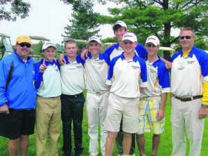 Western Albemarle golf team