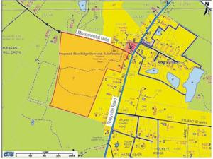 <p>The county supervisors approved a 34-lot subdivision near the intersection of Rixeyville [Route 229] and Monumental Mills [Route 640] roads.</p>