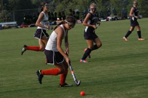 Field hockey scores first win over Liberty