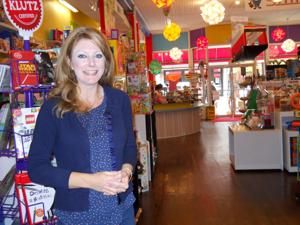 <p>Lollipop Station toy store owner Faith Gil lived a childhood that left lasting memories of domestic abuse. She recently shared her personal story in recognition of October being Domestic Violence Awareness Month.</p>