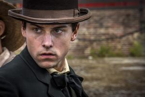 "<p>Jack Falahee (""How to Get Away with Murder"") stars as Frank Stringfellow in the new historical drama on PBS, ""Mercy Street.""</p>"