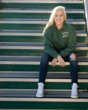 "<p style=""text-align: right;"">TERRY BEIGIE/GREENE COUNTY RECORD</p><p>Dragons girls soccer star Rachel DeMasters will sign a letter of commitment next week to play soccer at William & Mary, becoming the first recruited William Monroe soccer girl to head to a Division I school.</p>"