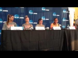 Julie Myers on loss to Syracuse