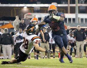 <p>The Orange County High School varsity football team earned its third win of the season 28-21 over Powhatan in overtime Thursday at Porterfield Park in Orange. </p>