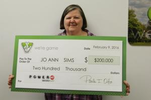 <p>Local tax professional Jo Ann Sims recently won $200,000 in the Virginia Lottery. She purchased the winning ticket at the 7-Eleven on North Main St.</p>