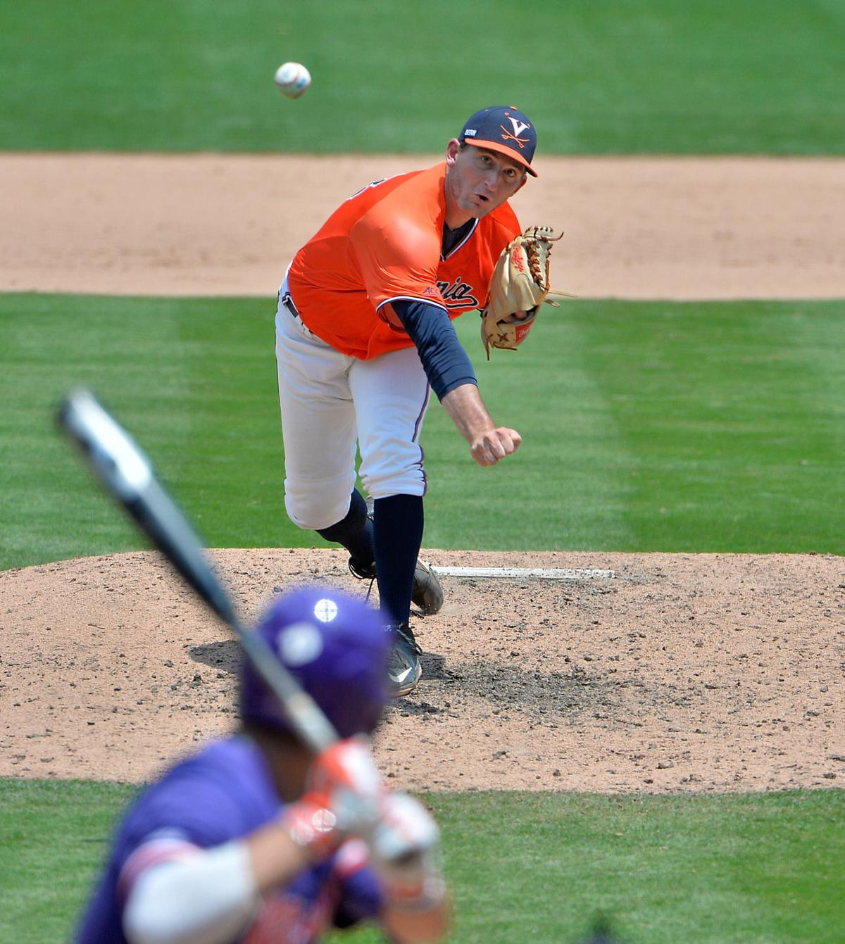 virginia baseball drops acc tourney opener to clemson cavalier