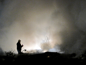 Fire destroys home in Albemarle