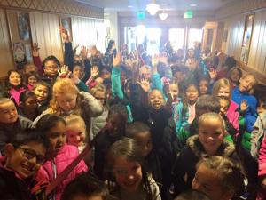 <p>Culpeper County Public School students were excited to watch Hiawatha, a stage play, recently at the State Theatre.</p>