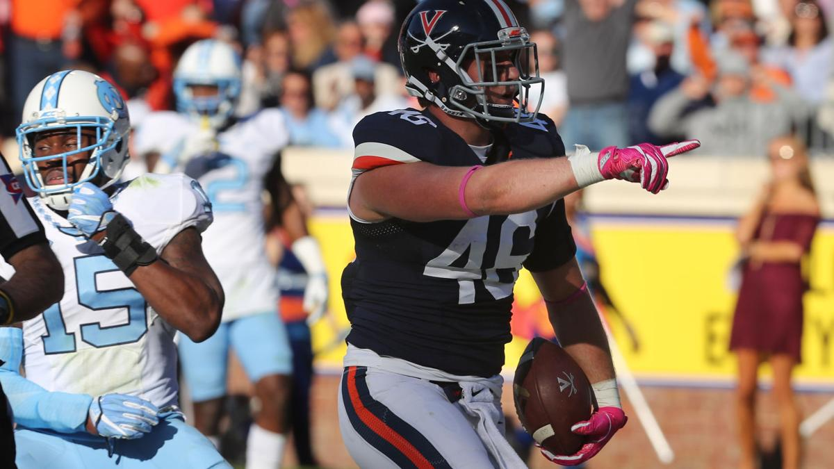 Notebook: Trick-play touchdown gives UVa early spark