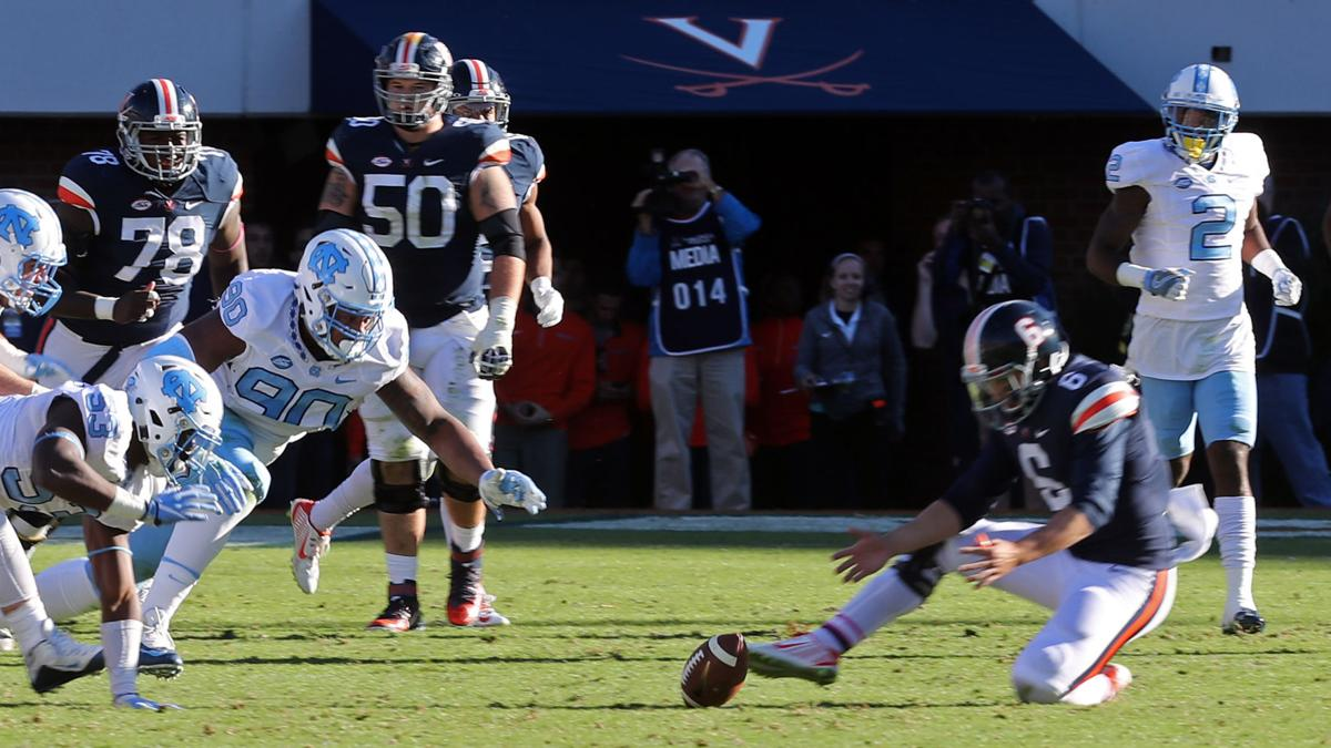 Three and out: North Carolina 35, Virginia 14