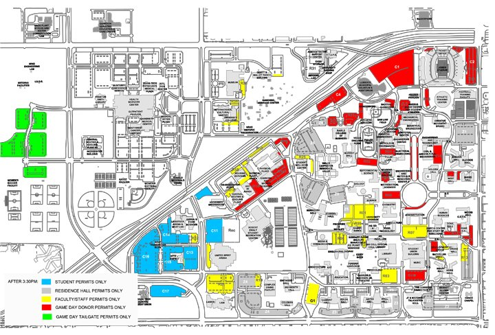 Thursday Game Brings Parking Challenges News