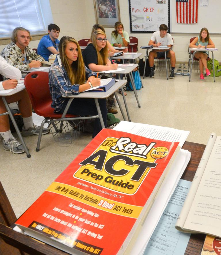 ACT scores show students not ready for college coursework